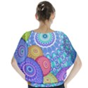 India Ornaments Mandala Balls Multicolored Blouse View2