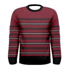 Blocks And Stripes Men s Long Sleeve Tee