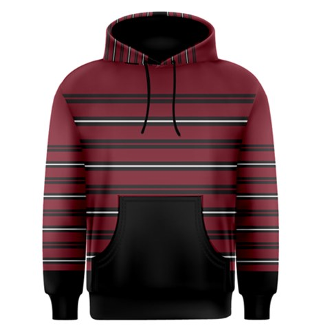 Blocks And Stripes Men s Pullover Hoodie