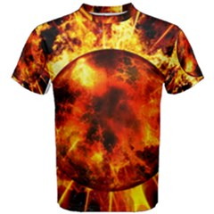 Stellar Planet  Men s Cotton Tee