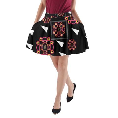 Win 20161004 23 30 49 Proyiyuikdgdgscnhggpikhhmmgbfbkkppkhouj A-Line Pocket Skirt