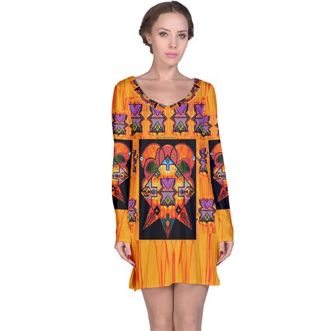 Clothing (20)6k,kk  O Long Sleeve Nightdress