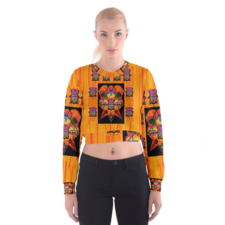 Clothing (20)6k,kk  O Women s Cropped Sweatshirt