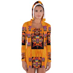 Clothing (20)6k,kk  O Women s Long Sleeve Hooded T Shirt