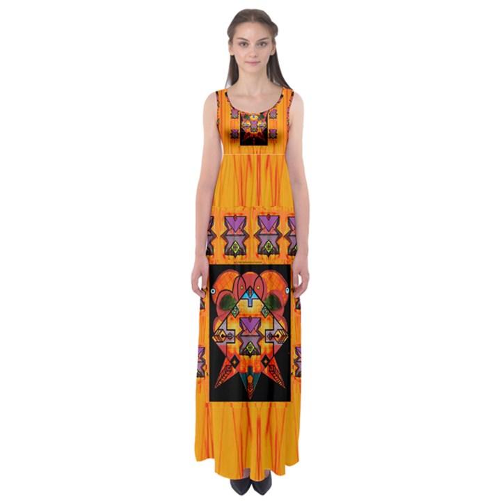 Clothing (20)6k,kk  O Empire Waist Maxi Dress