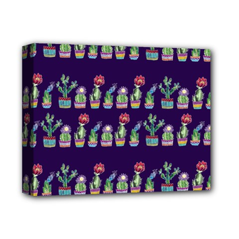Cute Cactus Blossom Deluxe Canvas 14  x 11