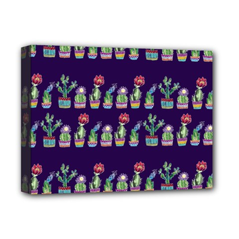 Cute Cactus Blossom Deluxe Canvas 16  x 12