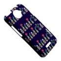 Cute Cactus Blossom HTC One X Hardshell Case  View5