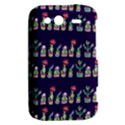 Cute Cactus Blossom HTC Wildfire S A510e Hardshell Case View2