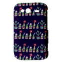 Cute Cactus Blossom HTC Wildfire S A510e Hardshell Case View3