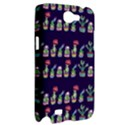 Cute Cactus Blossom Samsung Galaxy Note 2 Hardshell Case View2