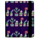 Cute Cactus Blossom Apple iPad 2 Flip Case View2
