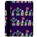 Cute Cactus Blossom Apple iPad 3/4 Flip Case View3