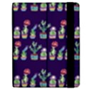 Cute Cactus Blossom Apple iPad Mini Flip Case View2