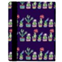 Cute Cactus Blossom Apple iPad Mini Flip Case View3