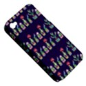 Cute Cactus Blossom Apple iPhone 4/4S Hardshell Case (PC+Silicone) View5