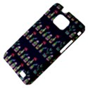 Cute Cactus Blossom Samsung Galaxy S II i9100 Hardshell Case (PC+Silicone) View4