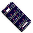 Cute Cactus Blossom HTC One SU T528W Hardshell Case View5