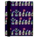 Cute Cactus Blossom Samsung Galaxy Tab 8.9  P7300 Flip Case View3