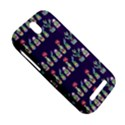 Cute Cactus Blossom HTC One SV Hardshell Case View5