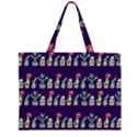 Cute Cactus Blossom Large Tote Bag View1
