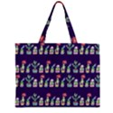 Cute Cactus Blossom Large Tote Bag View2
