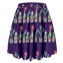 Cute Cactus Blossom High Waist Skirt View2