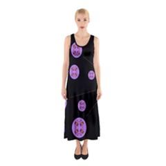 Alphabet Shirtjhjervbret (2)fvgbgnh Sleeveless Maxi Dress