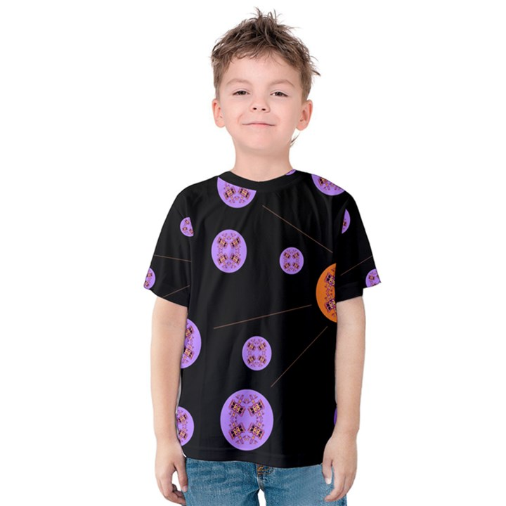Alphabet Shirtjhjervbret (2)fvgbgnh Kids  Cotton Tee