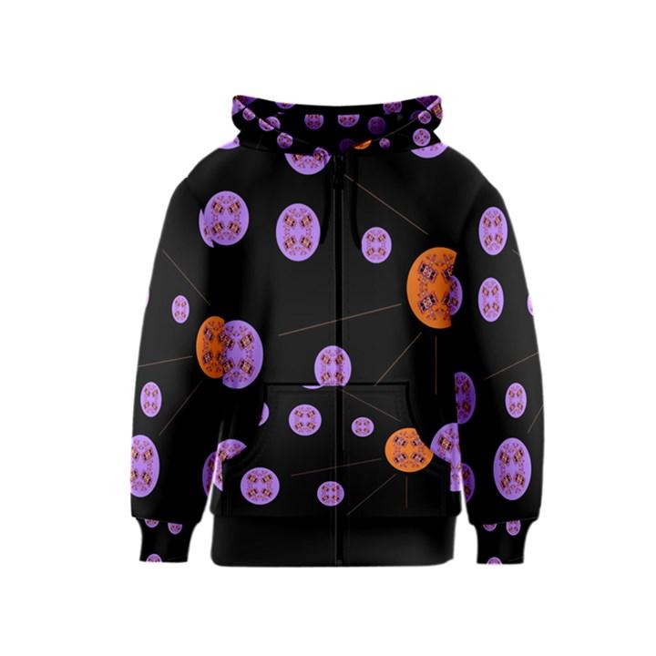 Alphabet Shirtjhjervbret (2)fvgbgnh Kids  Zipper Hoodie
