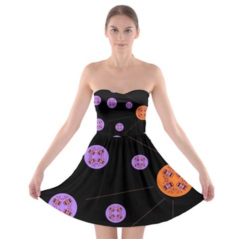 Alphabet Shirtjhjervbret (2)fvgbgnh Strapless Bra Top Dress