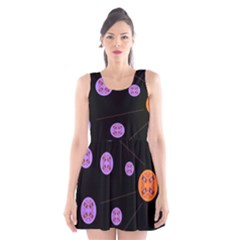 Alphabet Shirtjhjervbret (2)fvgbgnh Scoop Neck Skater Dress