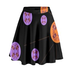 Alphabet Shirtjhjervbret (2)fvgbgnh High Waist Skirt
