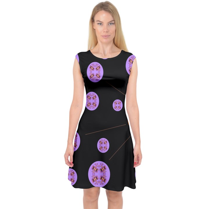 Alphabet Shirtjhjervbret (2)fvgbgnh Capsleeve Midi Dress