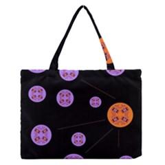 Alphabet Shirtjhjervbret (2)fvgbgnh Medium Zipper Tote Bag
