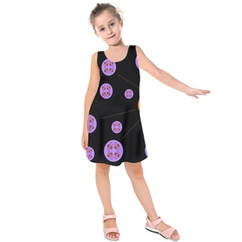 Alphabet Shirtjhjervbret (2)fvgbgnh Kids  Sleeveless Dress