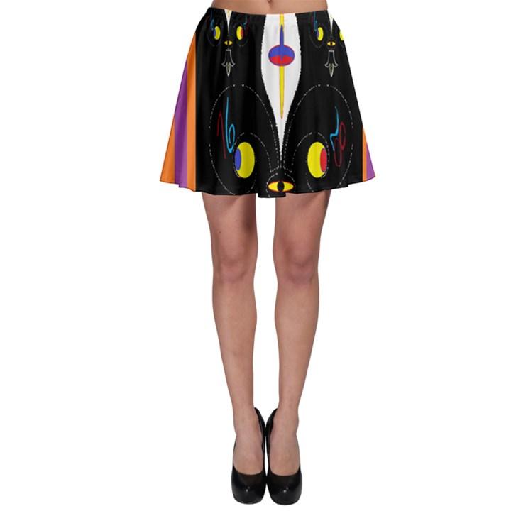 Flower F D L Skater Skirt