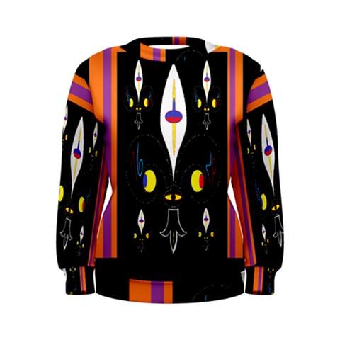 Flower F D L Women s Sweatshirt