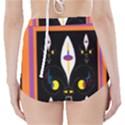 Flower F D L High-Waisted Bikini Bottoms View2