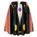 Flower F D L High Waist Skirt View2