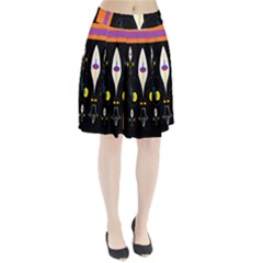 Flower F D L Pleated Skirt