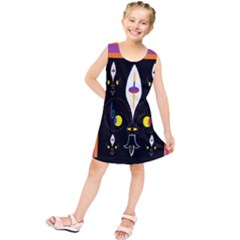 Flower F D L Kids  Tunic Dress