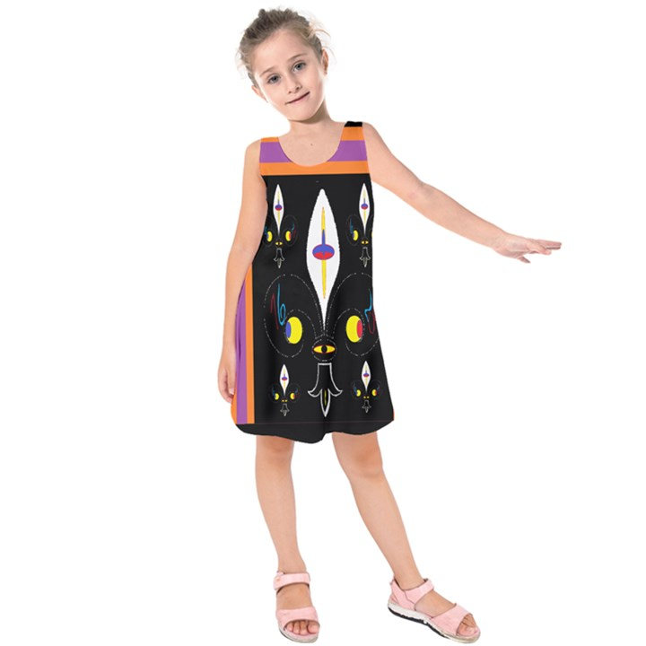 Flower F D L Kids  Sleeveless Dress