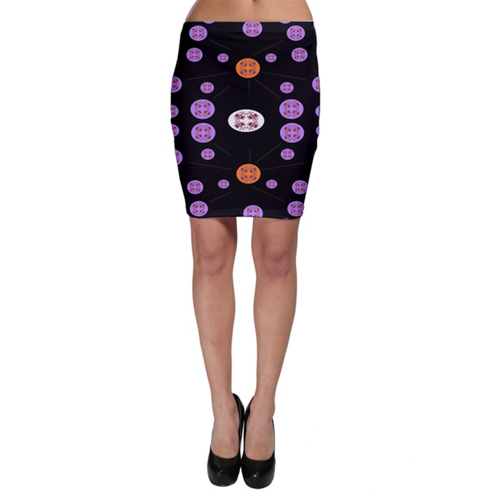 Alphabet Shirtjhjervbret (2)fvgbgnhll Bodycon Skirt