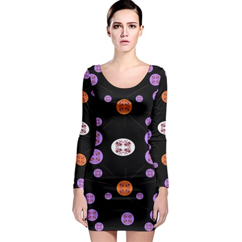 Alphabet Shirtjhjervbret (2)fvgbgnhll Long Sleeve Bodycon Dress