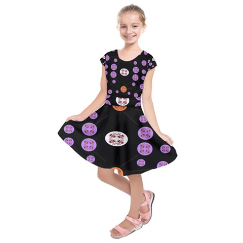 Alphabet Shirtjhjervbret (2)fvgbgnhll Kids  Short Sleeve Dress