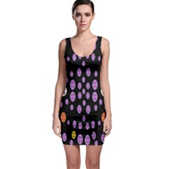 Alphabet Shirtjhjervbret (2)fvgbgnhllhn Sleeveless Bodycon Dress