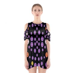 Alphabet Shirtjhjervbret (2)fvgbgnhllhn Cutout Shoulder Dress