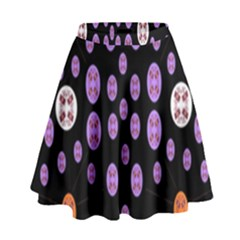 Alphabet Shirtjhjervbret (2)fvgbgnhllhn High Waist Skirt