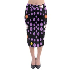 Alphabet Shirtjhjervbret (2)fvgbgnhllhn Midi Pencil Skirt
